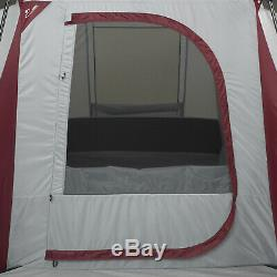 10 Person 3 Room Instant Cabin Tent Large Outdoor Camping Shelter 20 by 10 New