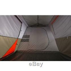12-Person 16x16' Instant Cabin Tent 3 Room Outdoor Camping Picnic Canopy Shelter