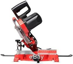 15A 10 in. Sliding Miter Saw Laser Guidance System Heavy-Duty Dual Slide Rails