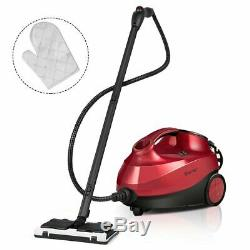 2000W Red Heavy Duty Steam Cleaner Mop Multi-purpose 1.5L Tank UL Certified