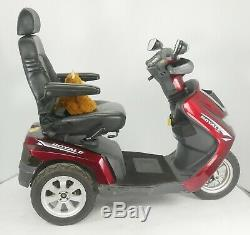 2014 Drive Royale 3 LJ940 Electric Mobility Scooter 8mph Red
