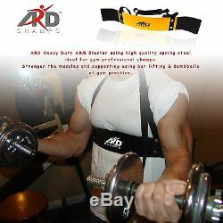 ARD CHAMPS Heavy Duty Arm Blaster Body Building Bomber Bicep Curl Triceps all