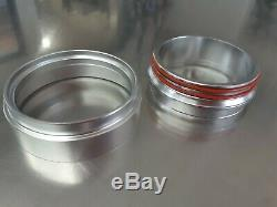 Aluminum Heavy Duty Red Intake V Band Clamp For 3.0 Intercooler Pipes