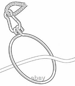 Anchor Ring Puller withPolyform Bouy Stainless Steel Simple Use Heavy Duty Model