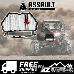 Assault Hellfire Front Grill Red with Light Mount 18-19 Polaris RZR XP Turbo S