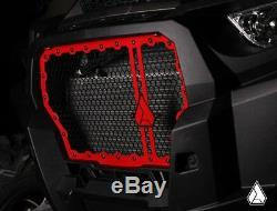 Assault Industries Hellfire V2 Front Grill Red for 17-18 Polaris RZR XP Turbo