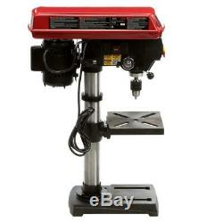 Bench Drill Press Laser Beam Hole Adjustable Heavy Duty Durable Variable Speed