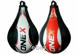Boxing Speed Ball Heavy Duty Platform MMA Leather Punching Bag Stand Workout stn