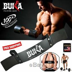 Buka Gears Heavy Duty Arm Blaster Body Building Bomber Bicep Curl Triceps New