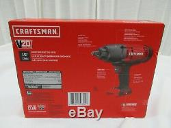 Craftsman 20V Lith-Ion 1/2 Cordless Impact Wrench with Hog Ring Anvil CMCF900B