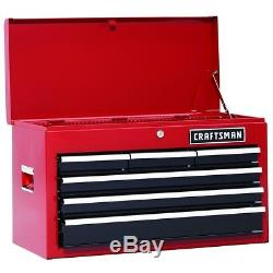 Craftsman Heavy Duty 26 Inch Tool box Top Chest Tools Ball Bearing Organizer Red