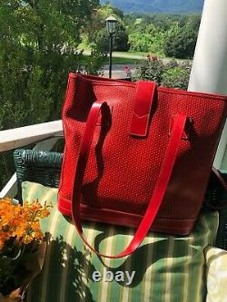DOONEY & BOURKE large leather tote bag Red