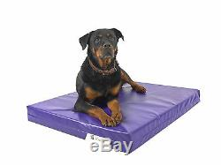 Dog Bed Chew Resistant Waterproof Heavy Duty Kennel Run Tough Robust