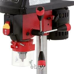 Drill Press Variable Speed 1/2 chuck Bench Top Laser Cast Iron Shop Tool NEW
