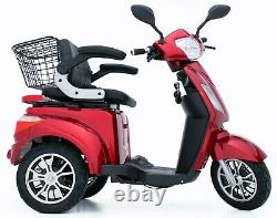ELECTRIC MOBILITY SCOOTER 3 Wheeled 500W FAST AND FREE UK DELIVERY Green Power