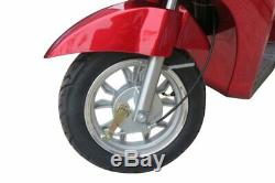 EWheels EW38 Red, Electric Mobility Scooter Heavy Duty 15mph 43 Mile range