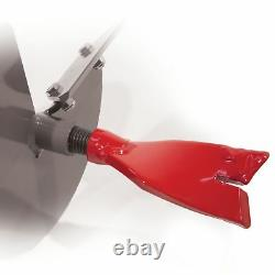 Earthquake EA6F 6 Earth Auger Fishtail Point Replaceable Post Hole Digger Bit