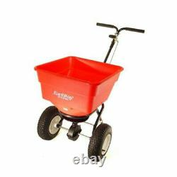 Earthway 2170 Commercial Heavy Duty Seed and Fertilizer Broadcast Spreader, Red