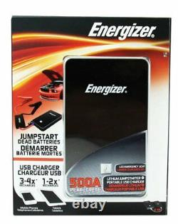 Energizer Heavy Duty Jump Starter 7500mAh with built-in UL Lithium battery(Red)