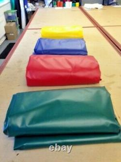 Extra Heavy Duty 610gsm Polyester Reinforced Pvc Tarpaulins Best Quality