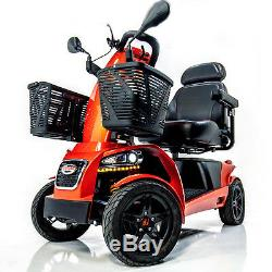 FR1 Rugged Large Mobility Scooter Freerider 4-Wheel with Suspension Speed 9.4 mph