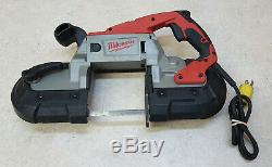 Good Condition Milwaukee 6238-20 Heavy Duty Corded 2 Speed Deep Cut Band Saw