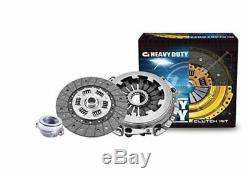 HEAVY DUTY CI Clutch Kit for Holden HK HT HG 161 186 ci 6 Cyl Red Mtr 1968-1979