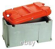 Heavy Duty Battery Box for batteries upto 120 200 A Large Red BATB200RD1