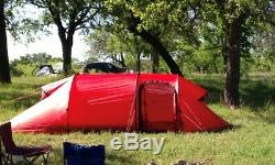 Hilleberg Nammatj 3 GT Tent with Footprint RED Excellent Condition