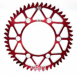 Honda CRF250 CR125 Chain & Sprocket Set Gold Heavy Duty O-Ring Kit Red 13T / 49T