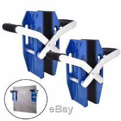 IMT Double Handed Glass Carrying Clamps F Metal Sheet/Granite Island/Countertop