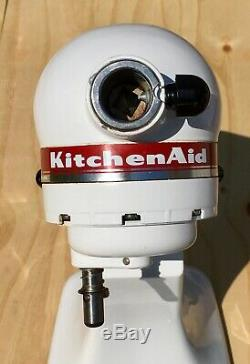 KitchenAid KSM90 300W Counter Top Stand Mixer White Commercial Heavy Duty