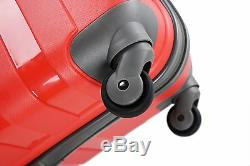 Luggage X Suitcase Extra Large 30 (77cm) Lightweight Hard Sided RED