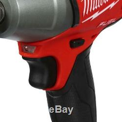 M18 0.5 in Compact Impact Wrench 18V Lithium Ion Cordless Brushless Pin Detent