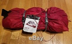 MSR Hubba NX Solo Lightweight Backpacking Tent and Footprint New and Unused