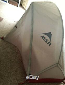 MSR Hubba NX Solo Lightweight Backpacking Tent w Footprint Unused