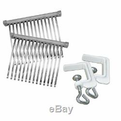 Manual Heavy Duty Meat Cuber Tenderizer Sturdy Aluminum Stainless Steel Blades