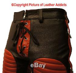 Mens Bondage Shorts Leather Heavy Duty Bluf Gay In Sizes And Colors