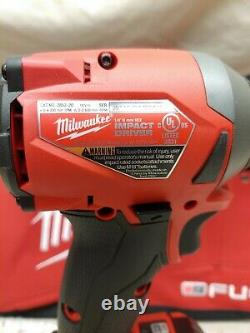 Milwaukee2853-22M18 FUEL 18-VoltImpact Driver SetTwo 5.0 Ah BatteriesNew