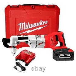 Milwaukee 0721-21 M28 28-Volt Lithium-Ion Right Angle Drill with Battery