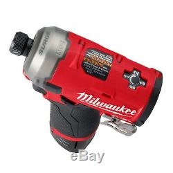 Milwaukee 2551-20 M12 Fuel Surge 1/4 Hex Hydraulic Driver TOOL ONLY