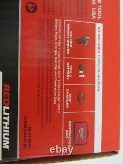 Milwaukee 2553-21 M12 12V Fuel Brushless1/4 Hex Impact Driver Kit With2Ah Battery