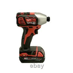 Milwaukee 2656-20 M18 18V 1/4-Inch Hex Impact Driver with Battery + Charger NEW