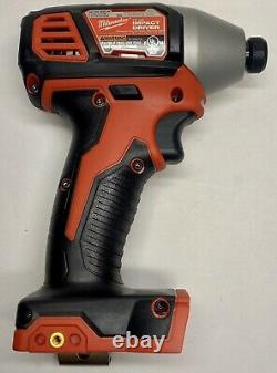 Milwaukee 2656-20 M18 1/4-Inch Hex Impact Driver with 3ah Battery NEW