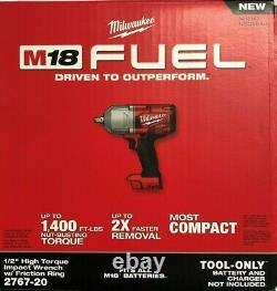 Milwaukee 2767-20 M18 1/2 High Torque Impact with friction ring NIB 2 DAY SHIP