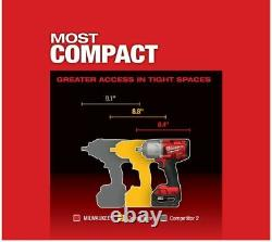 Milwaukee 2767-20 M18 Fuel High Torque ½ Impact Wrench WithFriction Ring