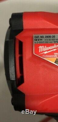 Milwaukee 2806-20 M18 FUEL 1/2 Hammer Drill with ONE-KEY New