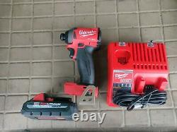 Milwaukee 2853-22 M18 FUEL 18-Volt 1/4 in. Hex Impact Driver with 3.0 ho cp batt