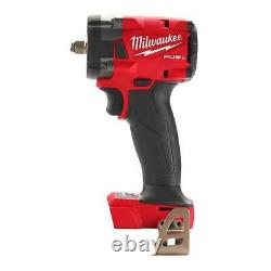 Milwaukee 2854-20 M18 18V Fuel 3/8 Compact Impact Wrench With Friction Ring