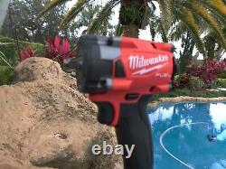 Milwaukee 2854-20 M18 3/8 Drive Fuel Stubby Impact Wrench Bare Tool